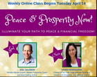 Webinar: Peace and Prosperity Now!